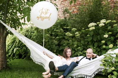 balon just married porocna trgovina